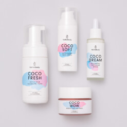 Dreamy Night Routine Set bestehend aus Coco Fresh, Coco Wow, Coco Soft, Coco Dream
