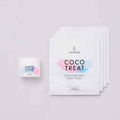 Face Mask Synergy Set bestehende aus Coco Clear und Coco Treat