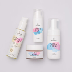 Sarah's Secret Routine Set bestehend aus Sarah's Choice, Coco Wow, Coco Soft und Coco Fresh