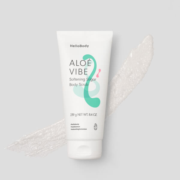 Aloe Vibe Softening Sugar Body Scrub