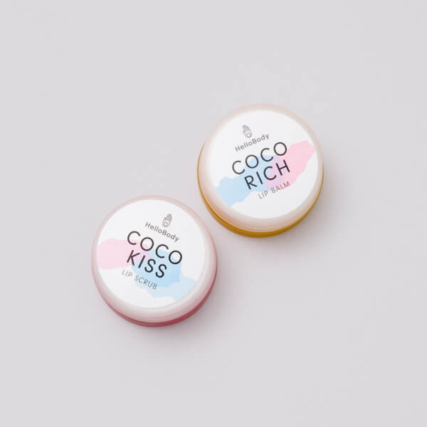 Coco Lips Set containing Coco Rich and Coco Kiss