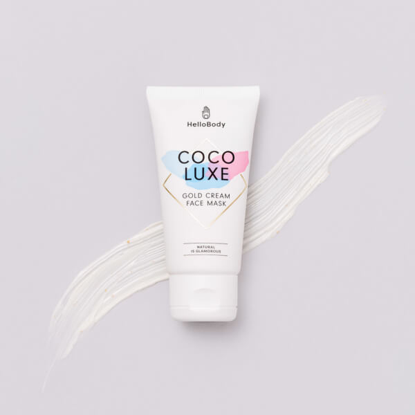 Coco Luxe Gold Cream Face Mask