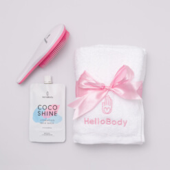 Cozy Hair Set containing Hello Shiny, Coco Shine and Hello Fluffy