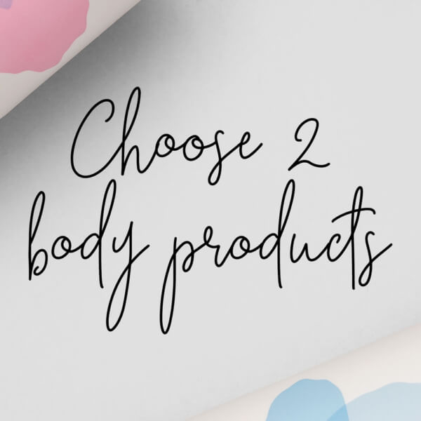 Create your own body HelloBody cosmetics set