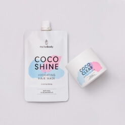 Detox and Hair Set containing Coco Shine and Coco Clear