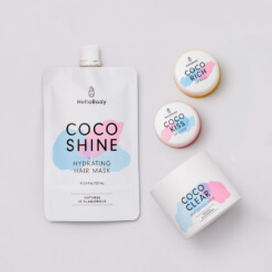 My Favourite Coco Set containing Coco Shine, Coco Clear, Coco Kiss and Coco Rich