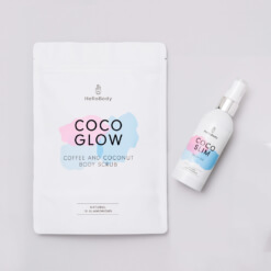 Scrub and Oil Set containing Coco Glow and Coco Slim