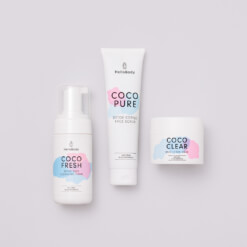 Triple Face Set containing Coco Fresh, Coco Pure und Coco Clear