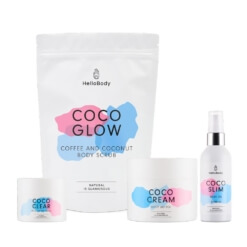 All Coco Set containing Coco Glow, Coco Clear, Coco Glam and Coco Slim