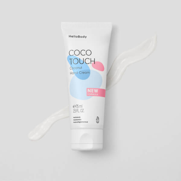 Coco Touch Coconut Hand Cream 1