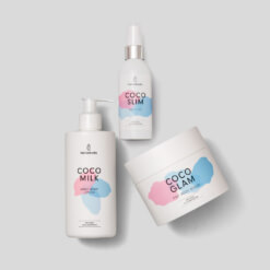 Hydrate and Tone up set consisting of COCO MILK, COCO SLIM and COCO GLAM